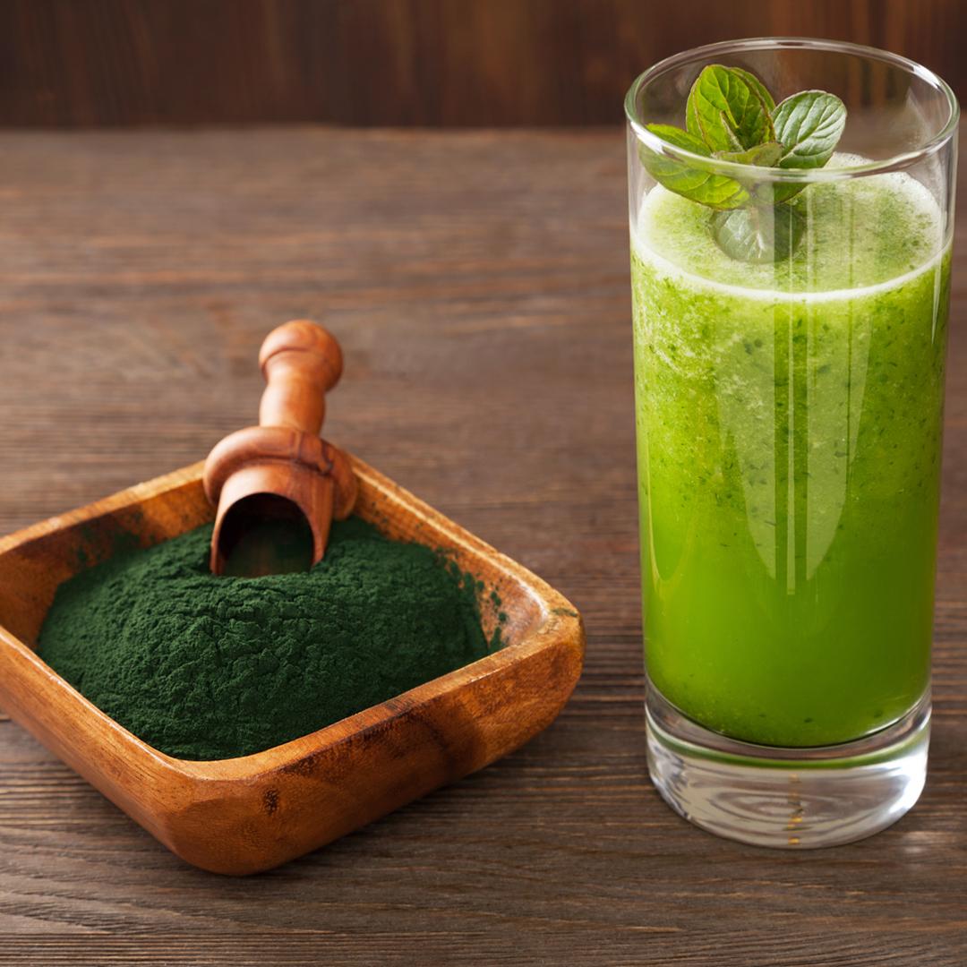 Entgiften mit Chlorella-Algen