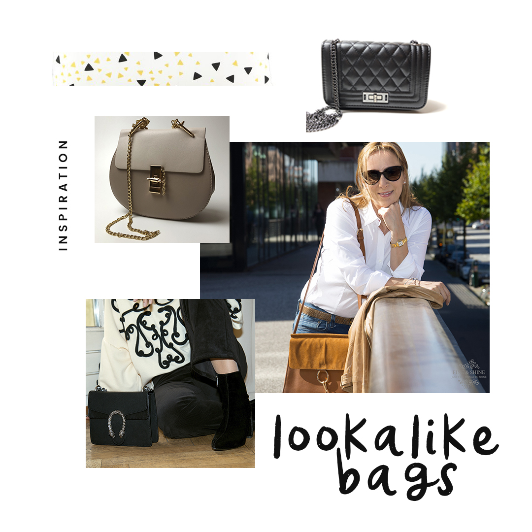 Balenziaga City Bag, Chanel Boy Bag, Chloé Drew Bag, Chloé Faye Bag, Chloé Nile Minaudière, Chloé Pixie Bag, Gucci Dionysus Bag, Lookalike Bags,