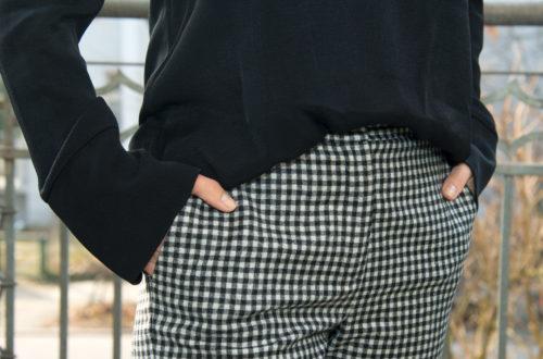 Style Classics - Pepita (Vichy, Hahnentritt), Style Classics, Modeklassiker, klassische Muster, Muster, Stil, Stilvorbilder, black and white, Hahnentritt, Houndstooth, kariert, Karo, Pepita, schwarz-weiss, Shepherd´s Check, Vichy