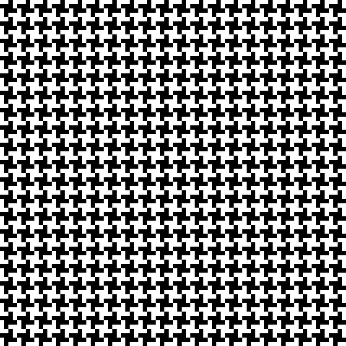 Style Classics – Pepita (Vichy, Hahnentritt), black and white, Hahnentritt, Houndstooth, kariert, Karo, Pepita, schwarz-weiss, Shepherd´s Check, Vichy