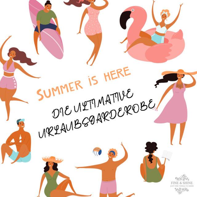 Holiday, Ich packe meinen Koffer, leichtes Gepäck, Mix und Match, Sommerurlaub, Styling-Tipps, Urlaubsgarderobe