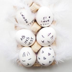 Die schönsten Deko-Ideen für Ostern, Ostern, Frohe Ostern, Frühling, Deko, Ideen, Deko-Ideen, Dekoration, Osterdekoration, Eier, Tulpen, Maiglöckchen, Easter, Happy Easter,
