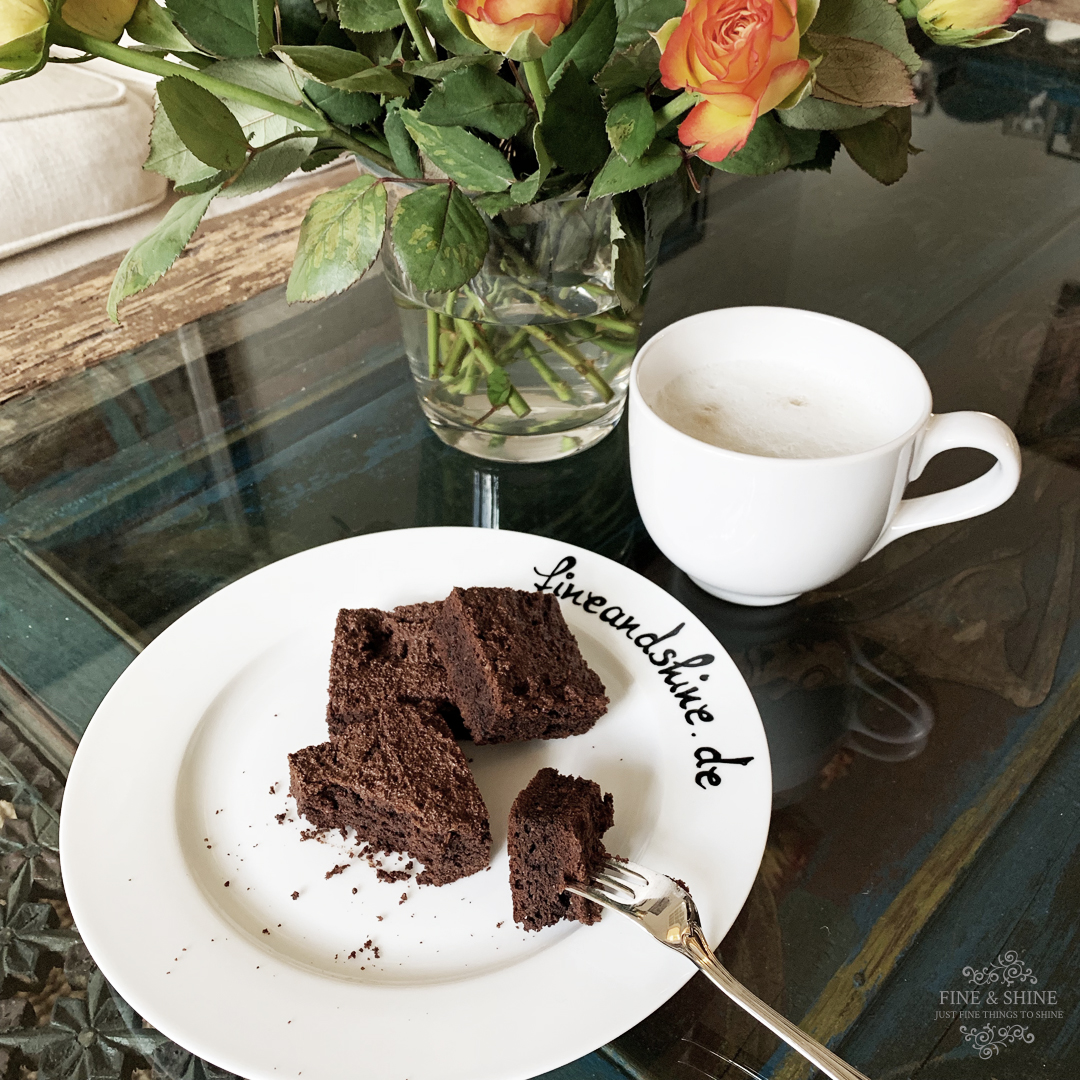 Brownies, Glutenfrei, Laktosefrei, Mandeln, ohne Industriezucker, Paleo, Paleo Schoko-Brownies mit Mandeln, Schoko-Brownies, Vegetarisch,
