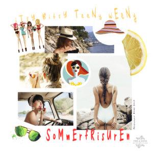 Sommerfrisuren - die schönsten Looks für den Sommer, Sommerfrisuren, Frisuren, Strandfrisur, Beachlook, Beach, Strand, Hairstyles, Sommerhaare,