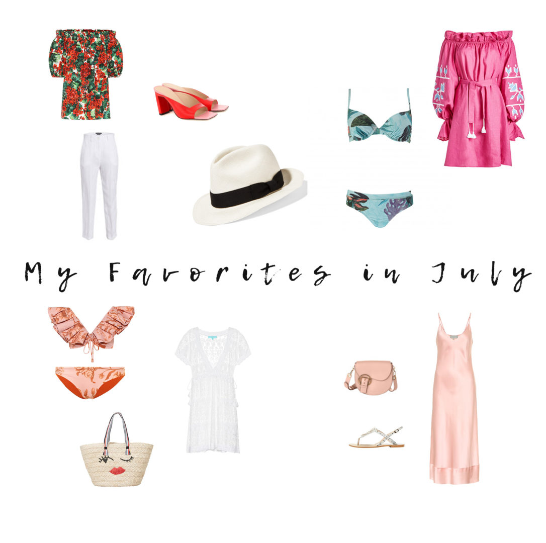 My Favorites in July