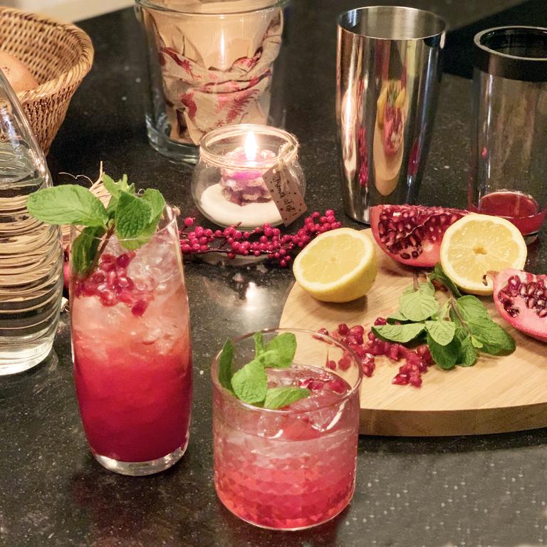 Exotische Powerfrucht – Cocktails mit Granatapfel