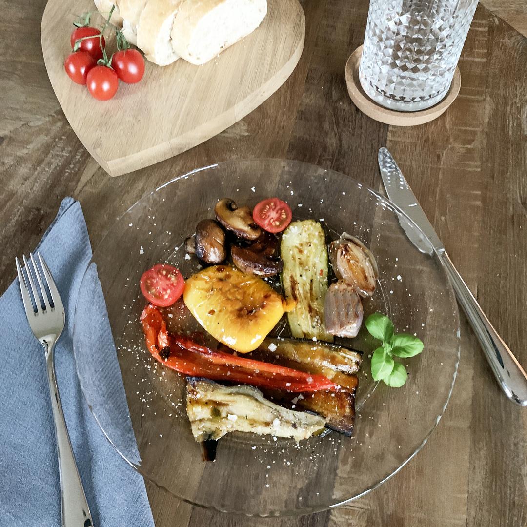 Leicht & Lecker: Antipasti Gemüse aus dem Ofen
