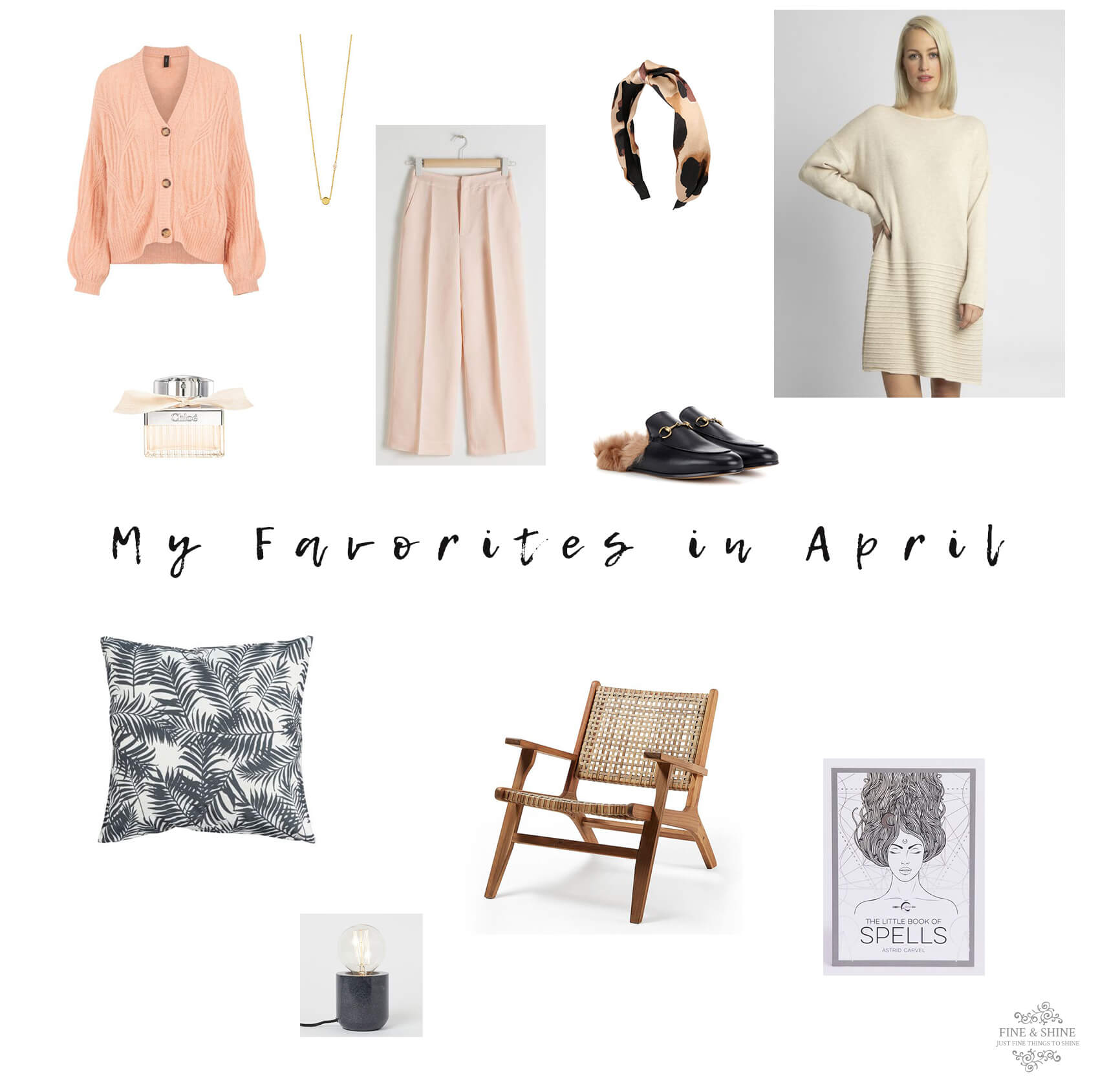 My Favorites in April