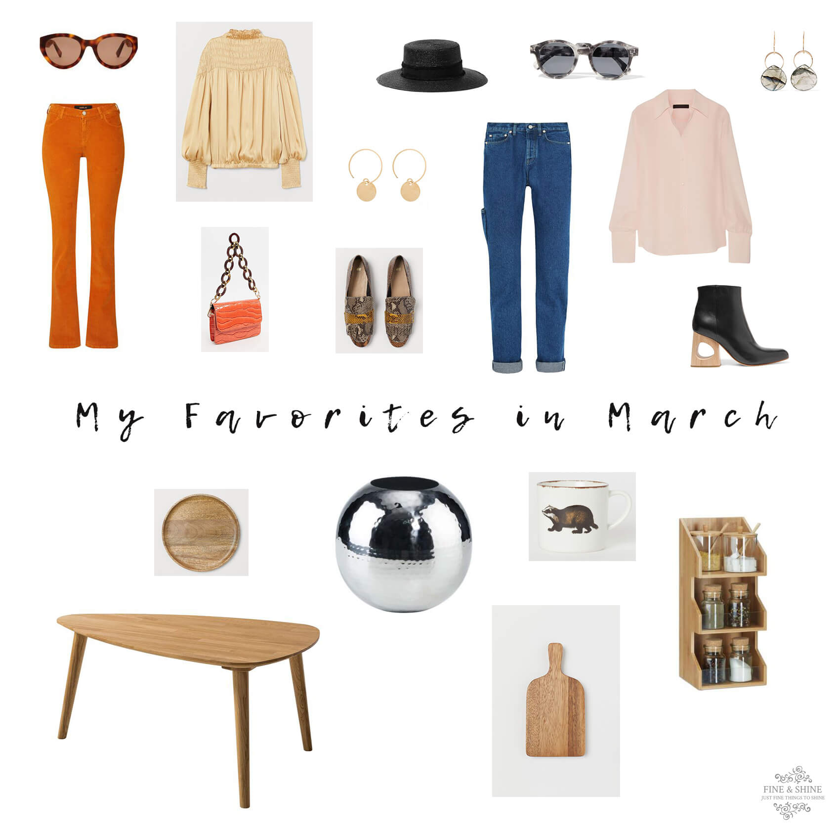 My Favorites in March