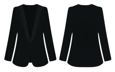 Smoking Jacket oder Tuxedo